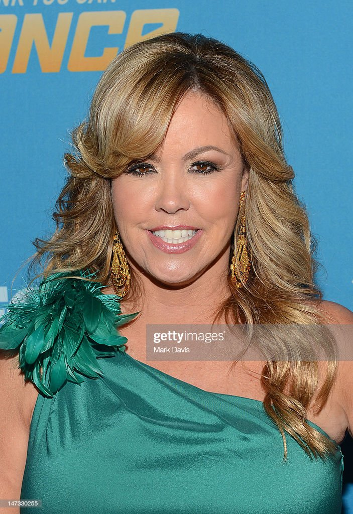 <a gi-track='captionPersonalityLinkClicked' href=/galleries/search?phrase=Mary+Murphy+-+Choreographer&family=editorial&specificpeople=7431919 ng-click='$event.stopPropagation()'>Mary Murphy</a> poses at the Fox Celebrates The 200th Episode Of 'So You Think You Can Dance' at CBS Television City on June 25, 2012 in Los Angeles, California.