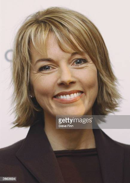 Mary Nightingale at the announcement of the shortlists for the 15 categories in the 'Tio Pepe Carlton London Restaurant Awards 2004' at the...