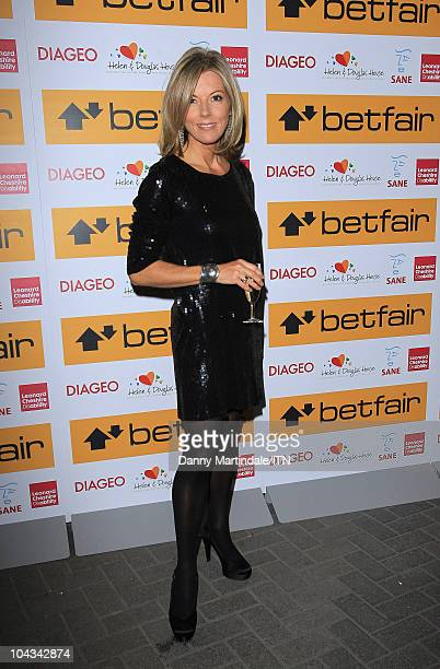 Mary Nightingale from ITV News attends Betfair's 'Newsroom's Got Talent' which raises funds for three charities Leonard Cheshire Disability SANE and...