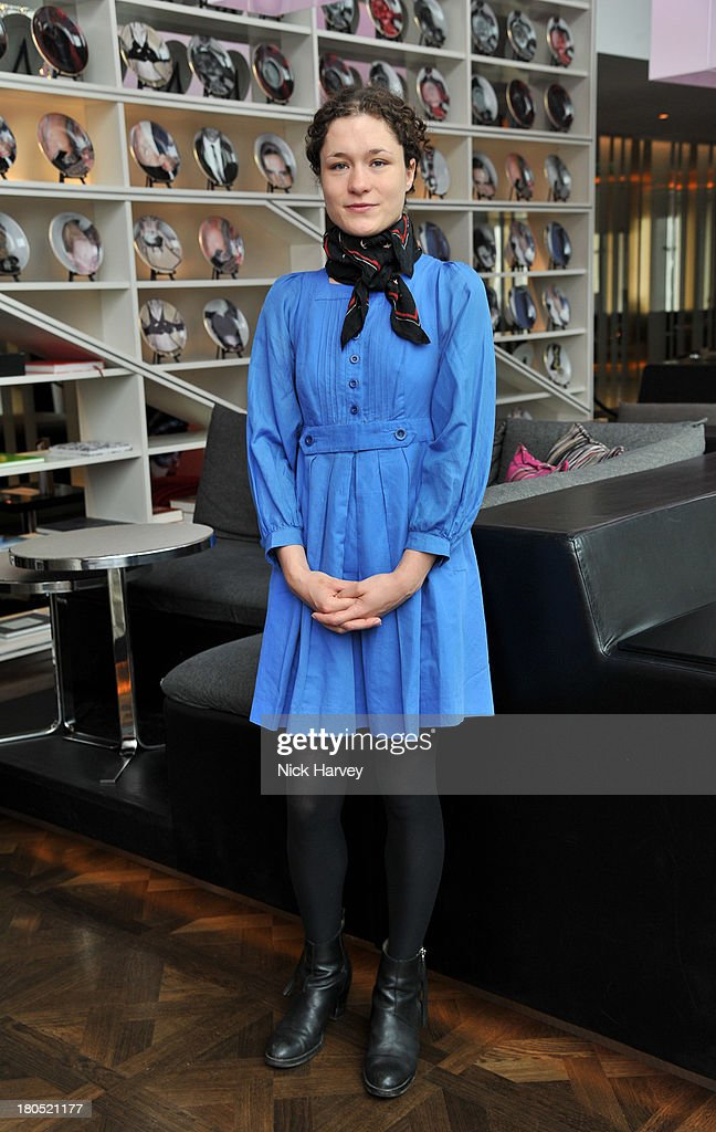 Mary Nighy attends the Eco-Age and Green Carpet Challenge screening of Handprint at W London - Leicester Square on September 14, 2013 in London, United Kingdom.