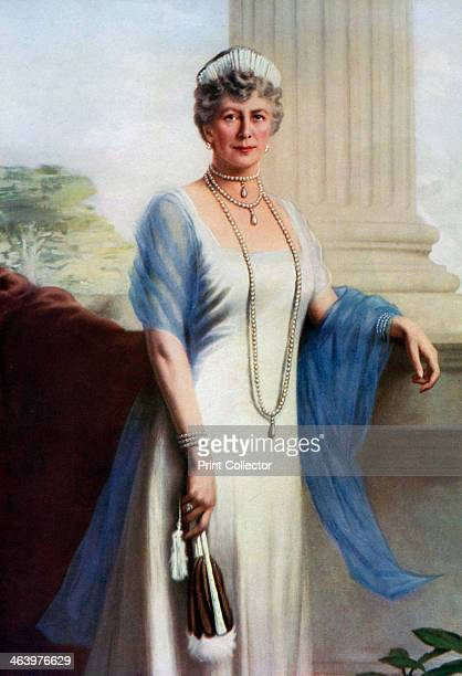 Mary of Teck Queen Consort of George V of the United Kingdom 1937 Queen Mary was the mother of King George VI and grandmother of Queen Elizabeth II...