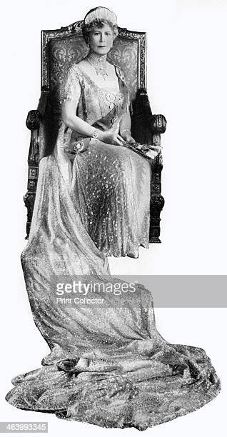 Mary of Teck Queen Consort of George V of the United Kingdom c1930s Illustration from George V and Edward VIII A Royal Souvenir by FGH Salusbury a...