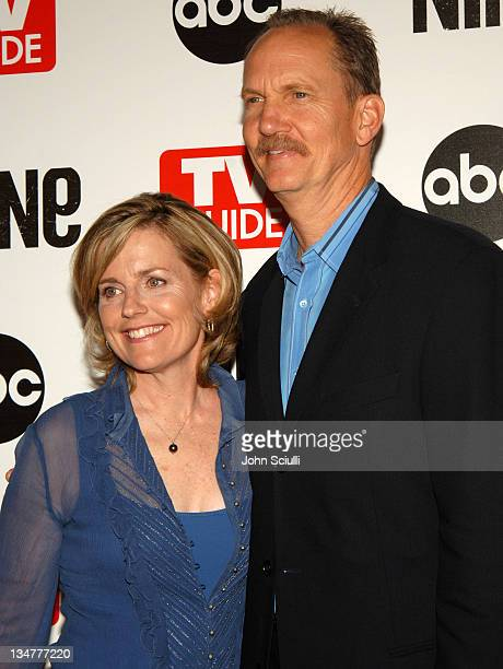 Mary O'Neill and Michael O'Neill during ABC TV Guide and Warner Bros Television Present 'The Nine' Red Carpet Screening at Los Angeles Center Studios...
