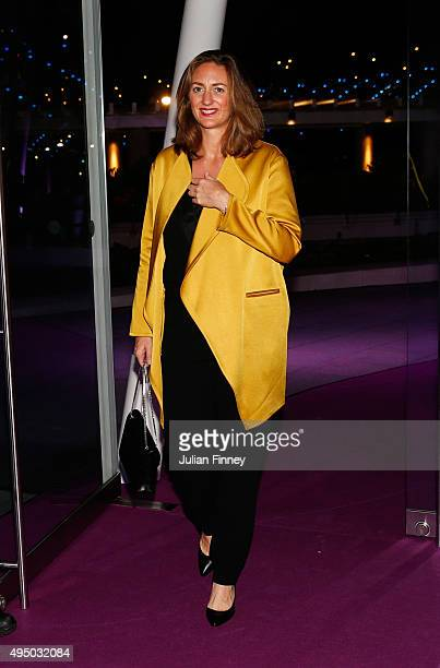 Mary Pierce attends Singapore Tennis Evening during BNP Paribas WTA Finals at Marina Bay Sands on October 30 2015 in Singapore