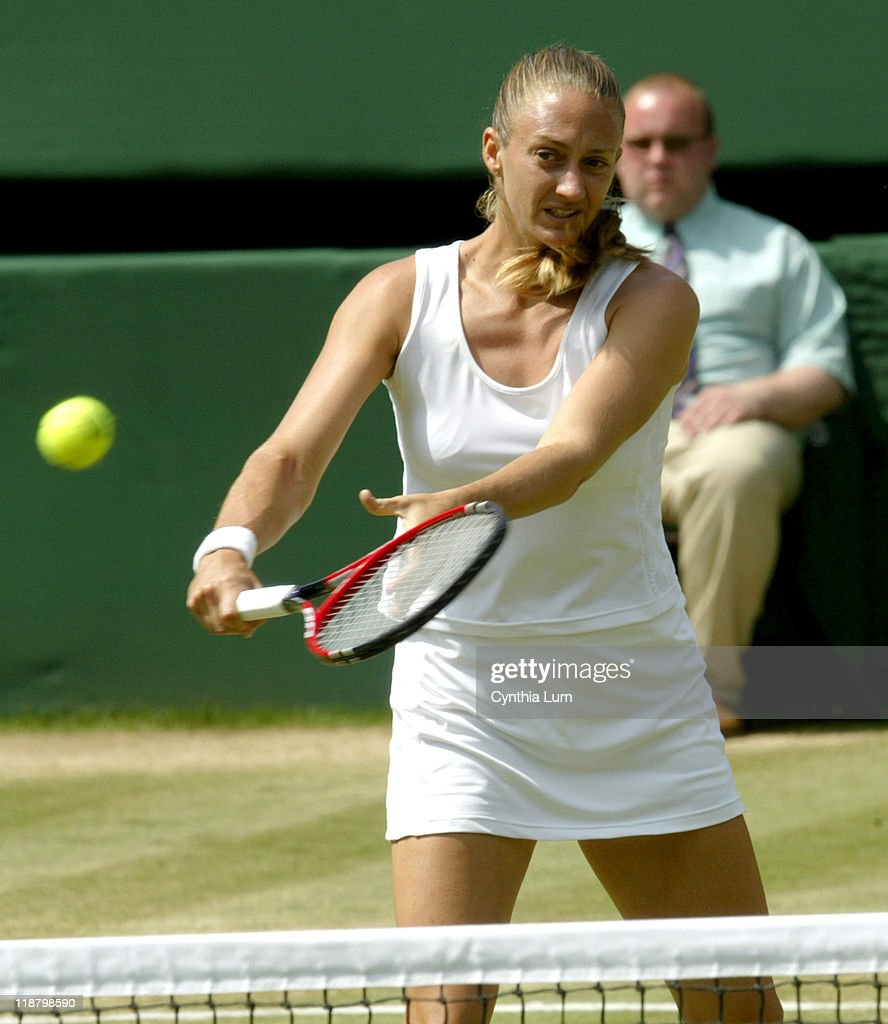 2005 Wimbledon Championships - Ladies' Singles - Quarter Finals - Mary Pierce