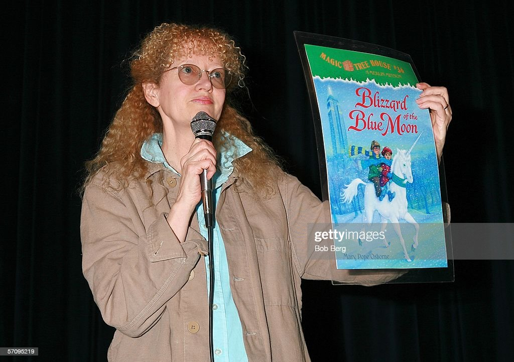 Attractive Who Wrote The Magic Treehouse Series Part - 8: Mary Pope Osborne, Author Of The Best-selling U0027Magic Tree Houseu0027 Series