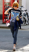 Mary Portas seen in Primrose Hill on April 20 2015 in London England