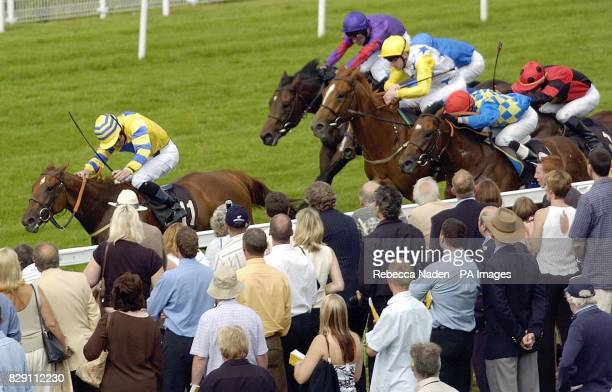 Mary Read is beaten by Tournedos to win The Betfair Molecomb Stakes at Goodwood Races Sussex