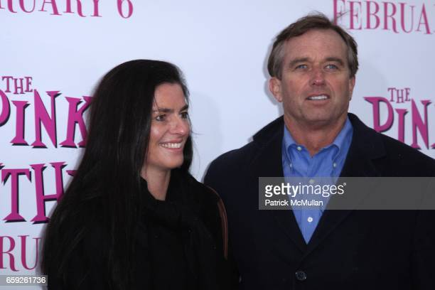 Mary Richardson Robert Kennedy and Jr attend COLUMBIA PICTURES and MGM Present the World Premiere of THE PINK PANTHER 2 at Ziegfeld Theatre on...