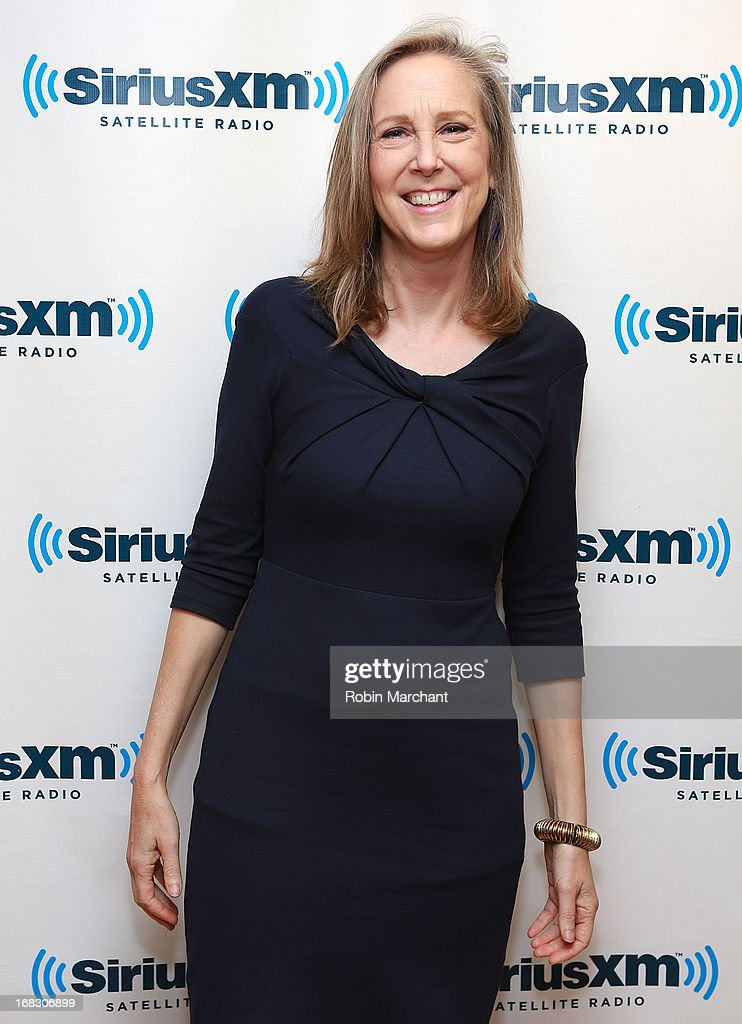 Mary Roach visits at SiriusXM Studios on May 8, 2013 in New York City.