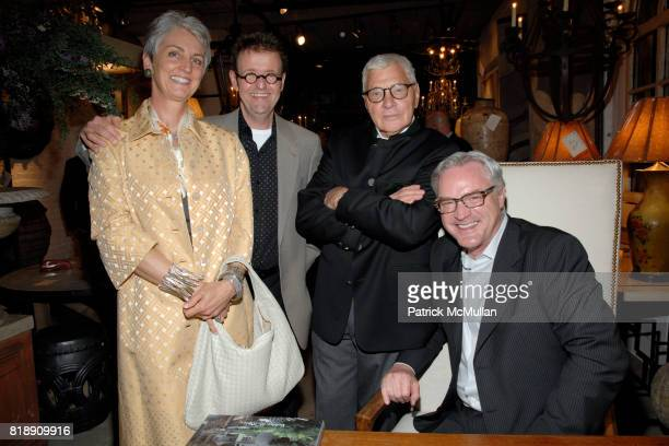 Mary Robin Jurkiewicz Greg Tankersley John Rosselli and Bobby McAlpine attend Book Party for BOBBY MCALPINE'S 'THE HOME WITHIN US' from RIZZOLI at...