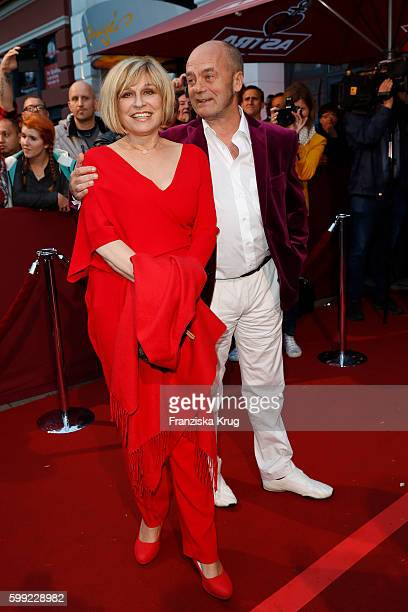Mary Roos and Conny Littmann attend the 'Nacht der Legenden' at Schmidts Tivoli on September 04 2016 in Hamburg Germany