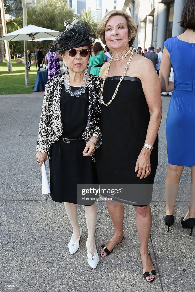 Mary Rose and Barbara Bundy attend The Academy Of Television Arts & Sciences' Costume Design & Supervision Peer Group 65th Primetime Emmy Awards Nominee Reception on July 27, 2013 in Los Angeles, CA.