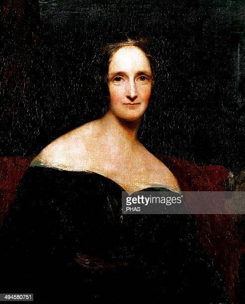 Mary Shelley English novelist best known for her Gothic novel Frankenstein Portrait by Richard Rothwell