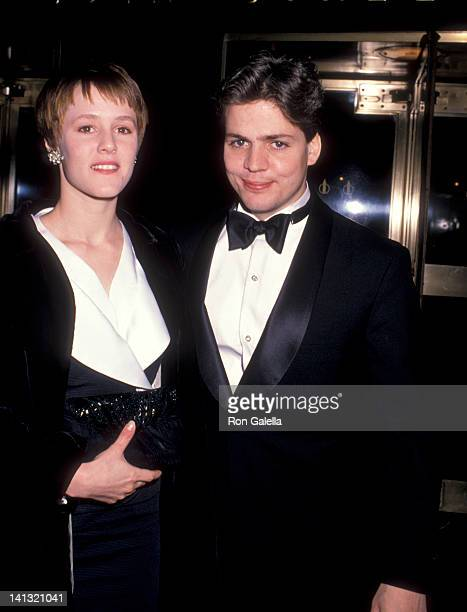 Mary Stuart Masterson and guest at the NY Premiere of 'Chances Are' Loews Tower East New York City