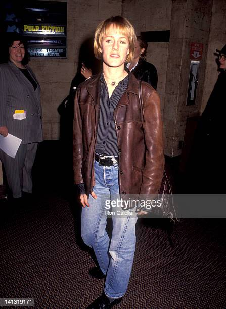 Mary Stuart Masterson at the Premiere of 'Before Sunrise' City Cinemas Village East New York City