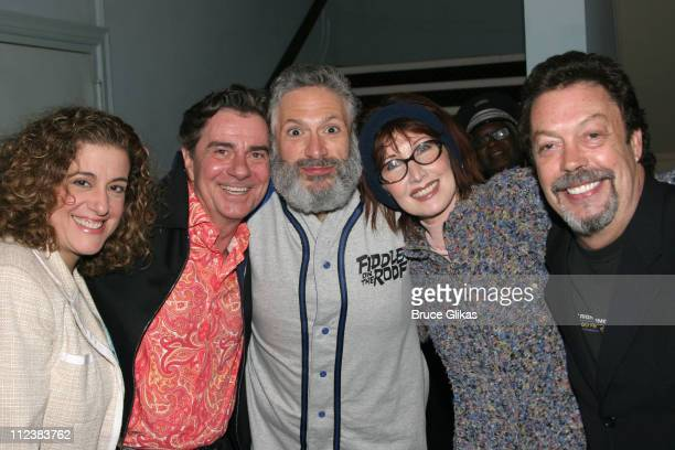 Mary Testa Gary Beach Harvey Fierstein Joanna Gleason and Tim Curry **Exclusive Coverage**