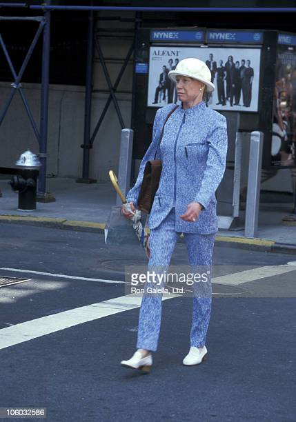 Mary Tyler Moore during Mary Tyler Moore Sighting at Madison Ave in New York City April 23 1997 at Madison Avenue in New York City New York United...
