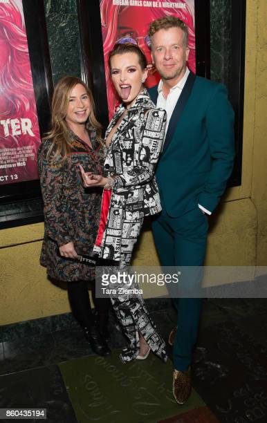 Mary Viola Bella Thorne and McG attend the premiere of Netflix's 'The Babysitter' at the Vista Theatre on October 11 2017 in Los Angeles California
