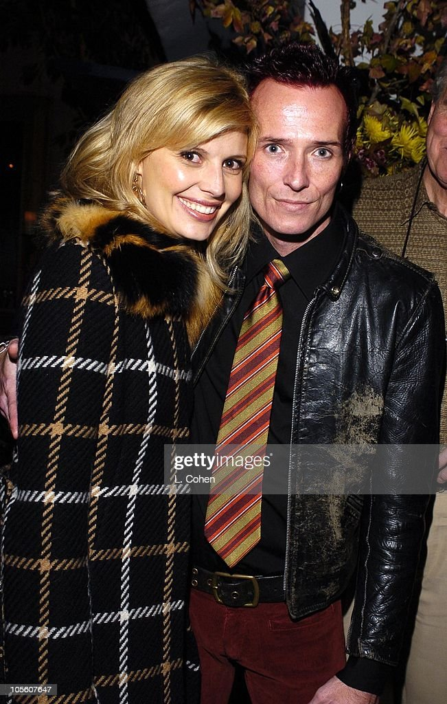 Mary Weiland and Scott Weiland of Velvet Revolver and guests celebrate his birthday at a surprise party thrown by wife Mary Weiland The party was held in the midst of the band's U.S. concert tour in support of their platinum Contraband album.