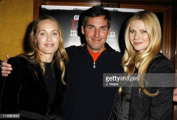 Mary Wigmore codirector Bill Wackermann publisher/producer with Gwyneth Paltrow *EXCLUSIVE*