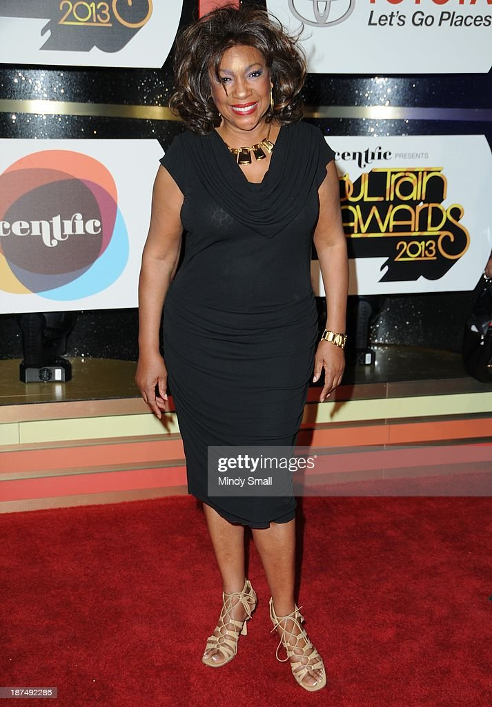 <a gi-track='captionPersonalityLinkClicked' href=/galleries/search?phrase=Mary+Wilson&family=editorial&specificpeople=217769 ng-click='$event.stopPropagation()'>Mary Wilson</a> arrives at the Soul Train Awards 2013 at the Orleans Hotel & Casino on November 8, 2013 in Las Vegas, Nevada.