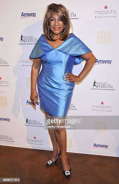Mary Wilson attends the 10th Annual Skating With The Stars Benefit Gala at 583 Park Avenue on April 13 2015 in New York City