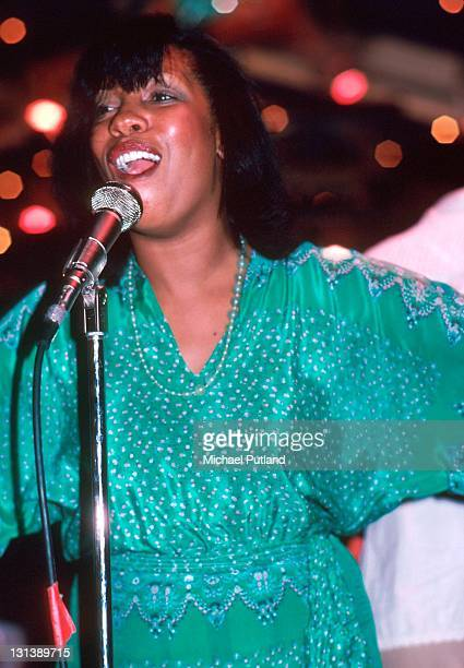 Mary Wilson performs on stage New York September 1979