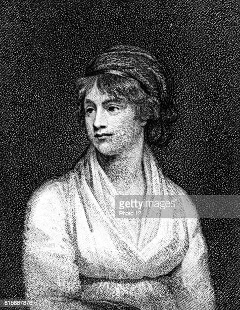 Mary Wollstonecraft English teacher writer and feminist Married William Godwin in 1797 Mother of Mary Shelley After portrait by English painter John...