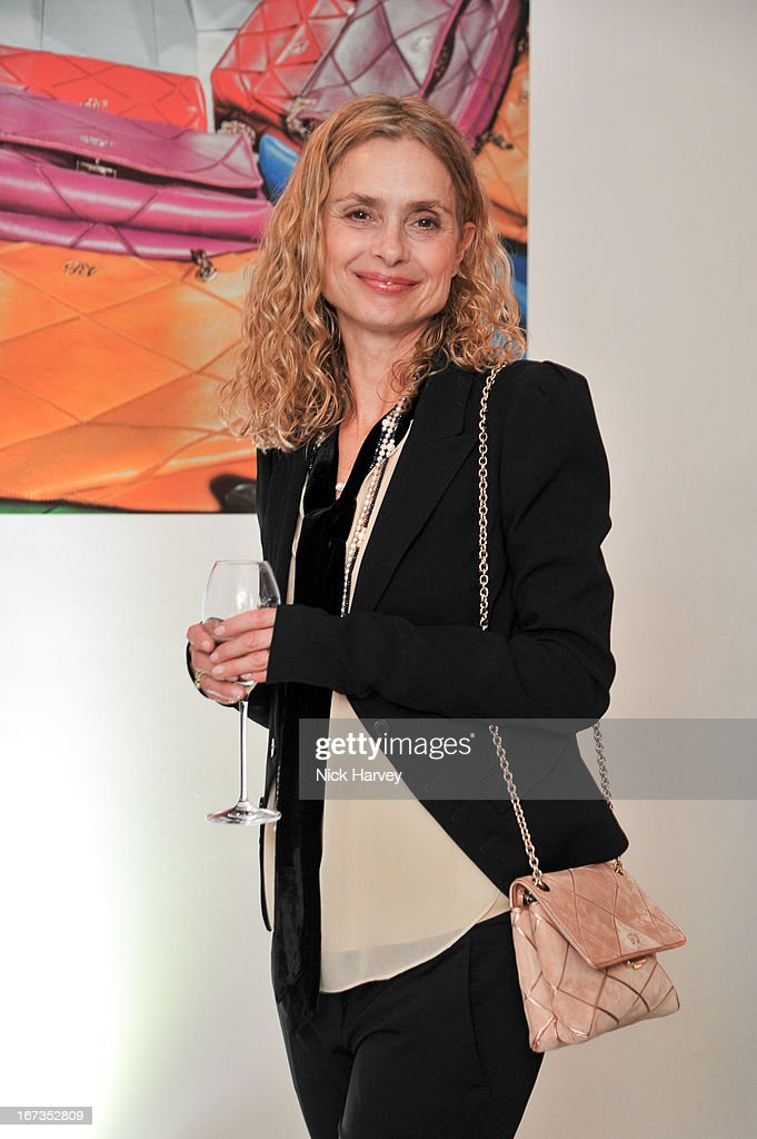 Maryam d'Abo attends the Roger Vivier book launch party at Saatchi Gallery on April 24, 2013 in London, England.