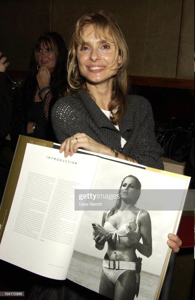 Maryam D'Abo, Bond Girls Are Forever Book Launch At Osla Restaurant, In Haymarket, London