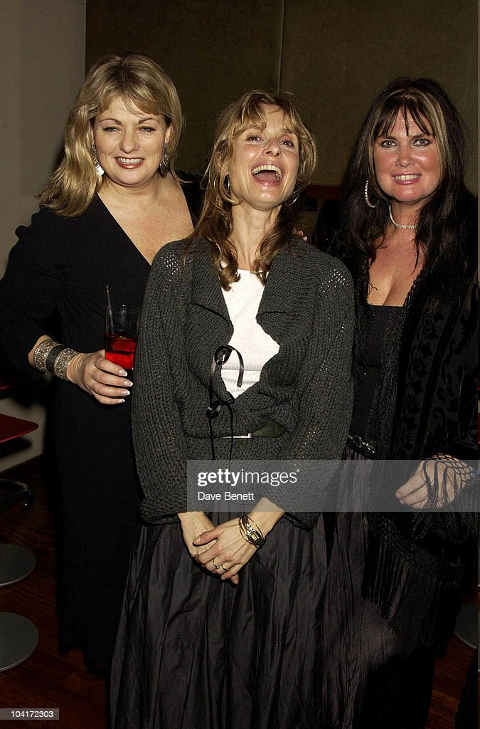 Maryam D'Abo With Bond Girls Carol Ashby And Caroline Monroe, Bond Girls Are Forever Book Launch At Osla Restaurant, In Haymarket, London