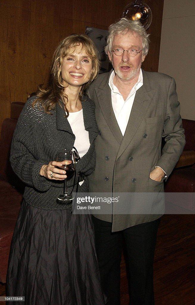 Maryam D'Abo With Husband Hugh Hudson, Bond Girls Are Forever Book Launch At Osla Restaurant, In Haymarket, London