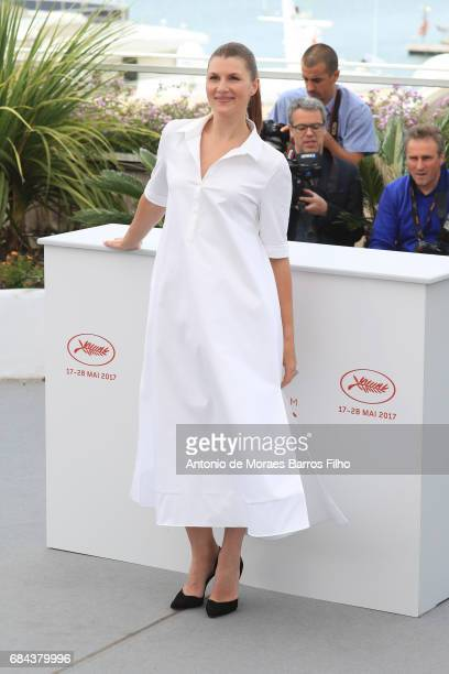 Maryana Spivak attends the 'Nelyobov ' Photocall during the 70th annual Cannes Film Festival at Palais des Festivals on May 18 2017 in Cannes France