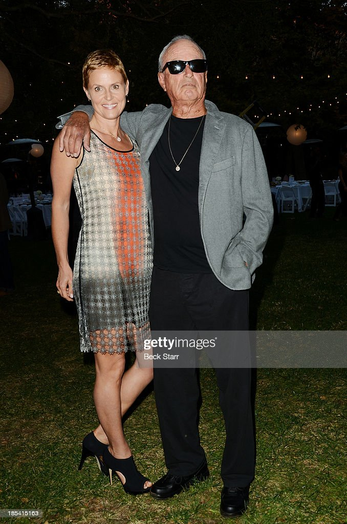 Maryann and Fred Segal arrive at the Malibu Boys And Girls Club Fundraiser to introduce the 2013 BGCM Youth of the Year on October 19, 2013 in Malibu, California.