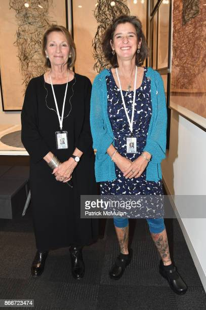 Maryanne Ellison Simmons and Elisa Forgelman attend the IFPDA Fine Art Print Fair Opening Preview at The Jacob K Javits Convention Center on October...