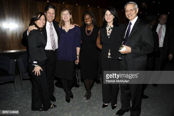 MaryJo DeMartine Ira Yoffe Beth Yoffe Gabrielle Gibbs Christie Emden and Martin Timins attend PARADE MAGAZINE and SI Newhouse Jr honor Walter...