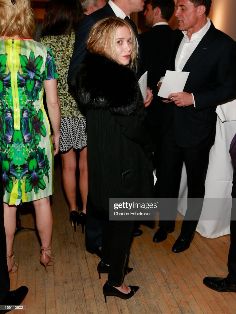 Mary-Kate Olsen attends 2013 Tribeca Ball at New York Academy of Art on April 8, 2013 in New York City.