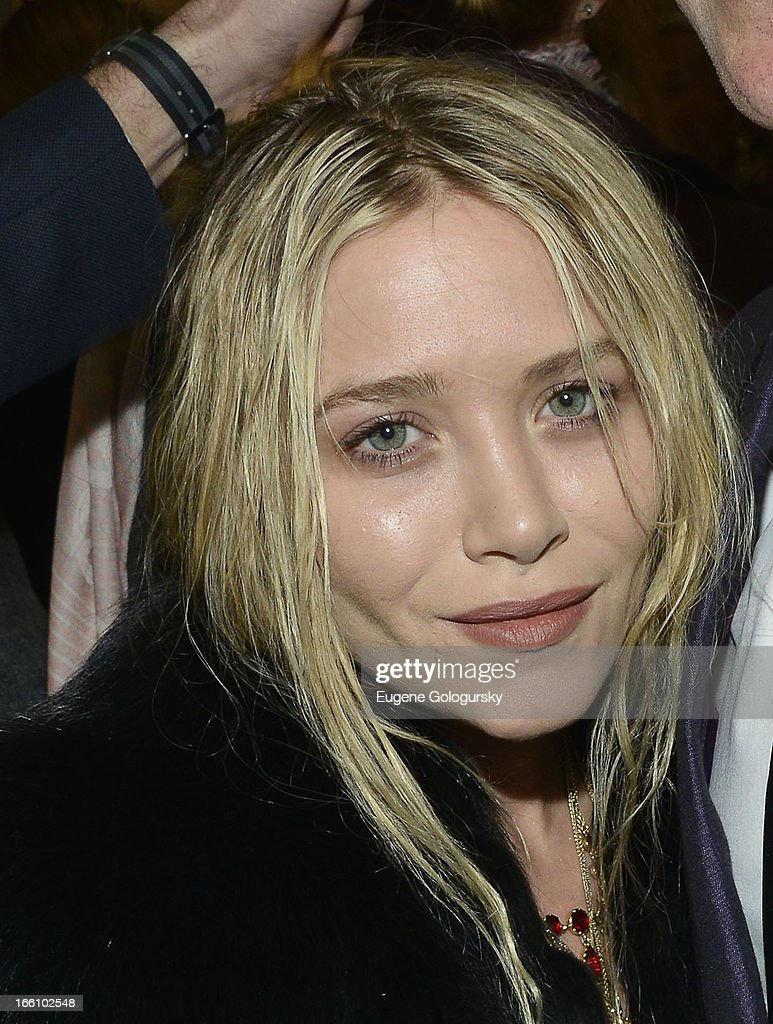 Mary-Kate Olsen attends the 2013 Tribeca Ball at New York Academy of Art on April 8, 2013 in New York City.