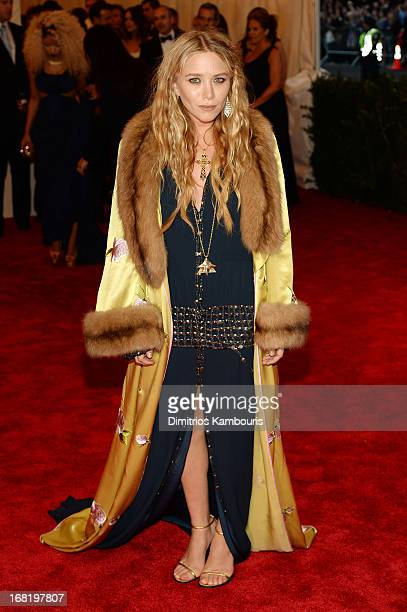 MaryKate Olsen attends the Costume Institute Gala for the 'PUNK Chaos to Couture' exhibition at the Metropolitan Museum of Art on May 6 2013 in New...