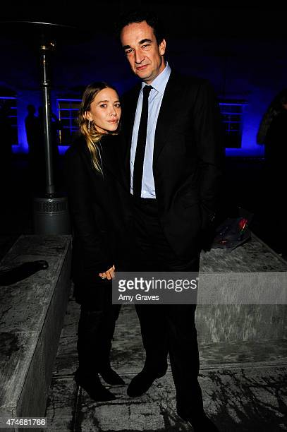 MaryKate Olsen Olivier Sarkozy attend the Just One Eye Launch of the Utilitarian Backpack Event at Just One Eye on December 5 2014 in Hollywood...