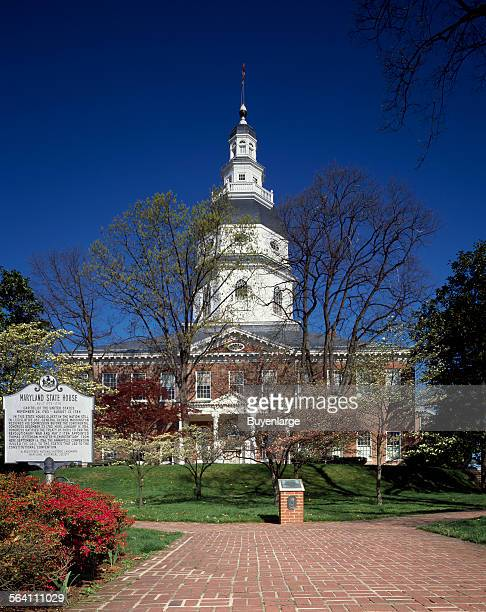 Maryland Capitol building which the locals prefer to call the Maryland State House Annapolis Maryland