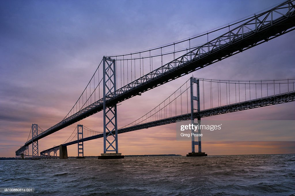 USA, Maryland, Chesapeake Bay Bridge