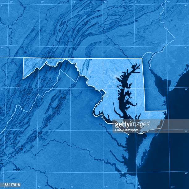Maryland Topographic Map