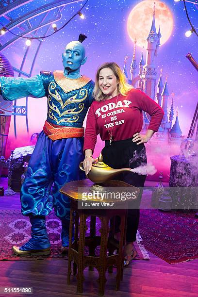 Marylou Berry attends the new show of Disneyland Paris 'Mickey et le Magicien' at Disneyland Paris on July 2 2016 in Paris France