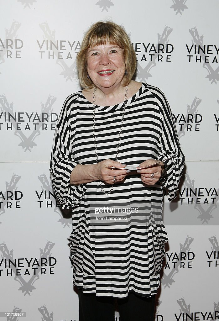 Mary-Louise Burke attends the opening night of 'The Metal Children' at the Vineyard Theatre on May 19, 2010 in New York City.