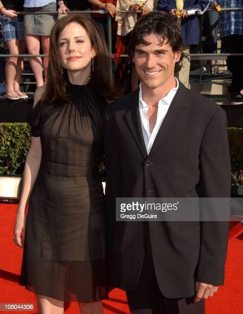 MaryLouise Parker and Billy Crudup during 9th Annual Screen Actors Guild Awards Arrivals at Shrine Exposition Center in Los Angeles California United...