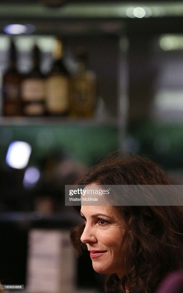 Mary-Louise Parker at the Broadway Opening Night After Party for 'The Snow Geese'' at Copacabana on October 24, 2013 in New York City.