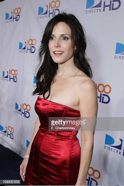 MaryLouise Parker at the DIRECTV's 100 HD Emmy Party at the West Hollywood Municipal Park on September 17 2007 in West Hollywood CA
