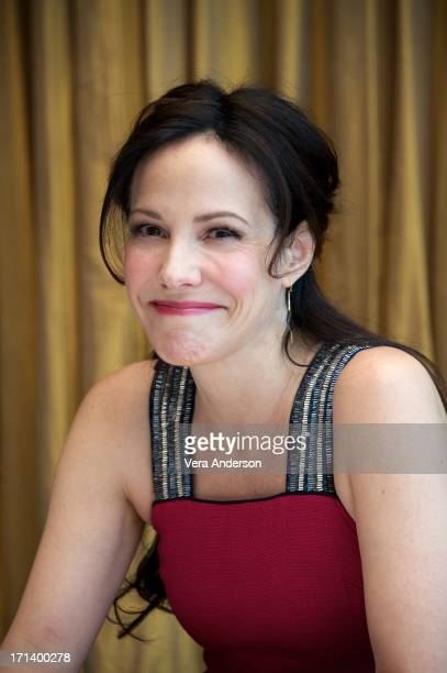 MaryLouise Parker at the 'Red 2' Press Conference at the Mandarin Oriental Hotel on June 22 2013 in New York City